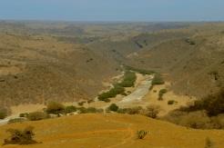 ausgetrocknetes Wadi