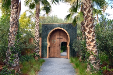 Eingang zum Garten Anima